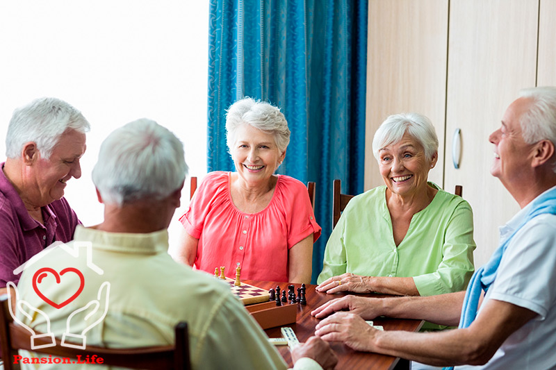 При оформлении в дом престарелых все имущ сочи пансионат для пожилых